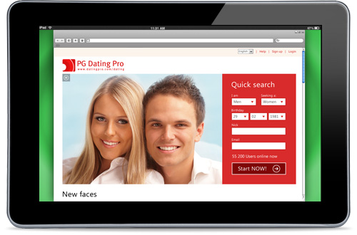 dating pro software - turnkey scrirp for online business