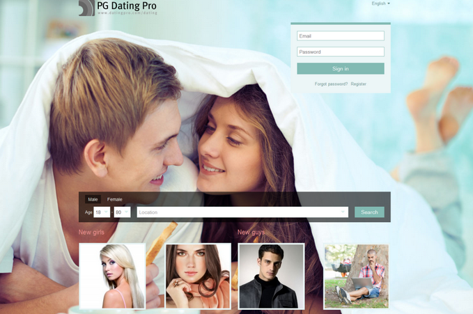 Pg dating software