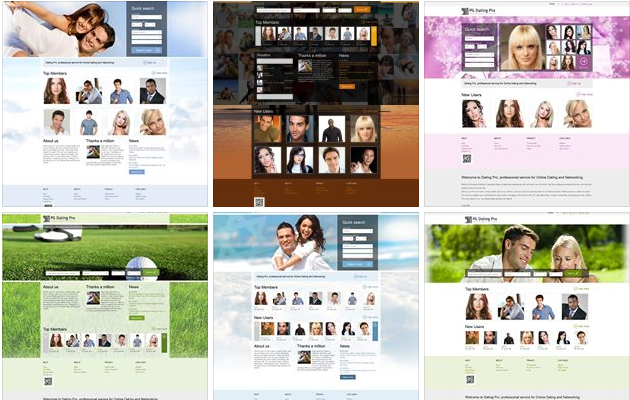 professional dating website templates On this page we offer: wedding planner - wordpress template - id:300111760 - price: $35, wedding planner - html5 template - id:300111709 - price: $18, dating agency - html5 template - id:300111671 - price: $15, and much more.