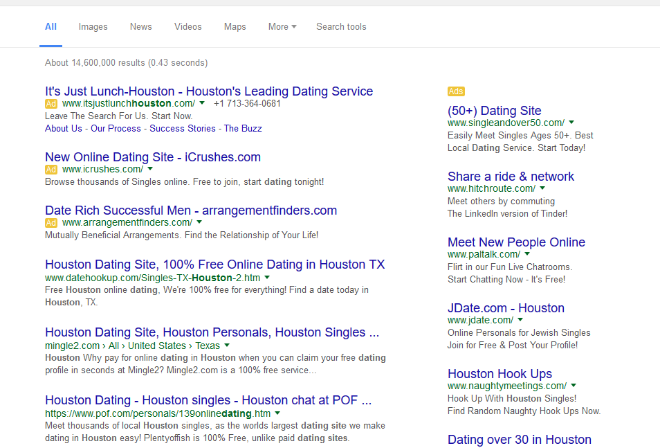 How to Set Up a Google AdWords Campaign for Your Dating Site