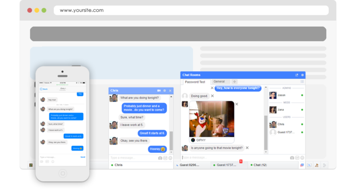 Video chat by Arrowchat
