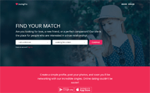 Dating site demo by PG Dating Pro
