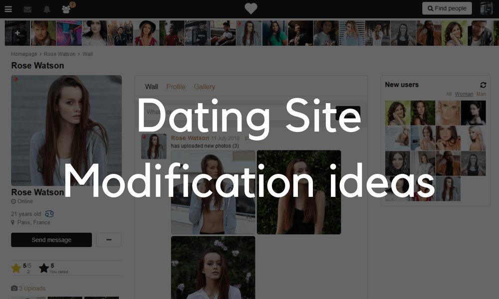 PG Dating Pro: Custom modifications for your project