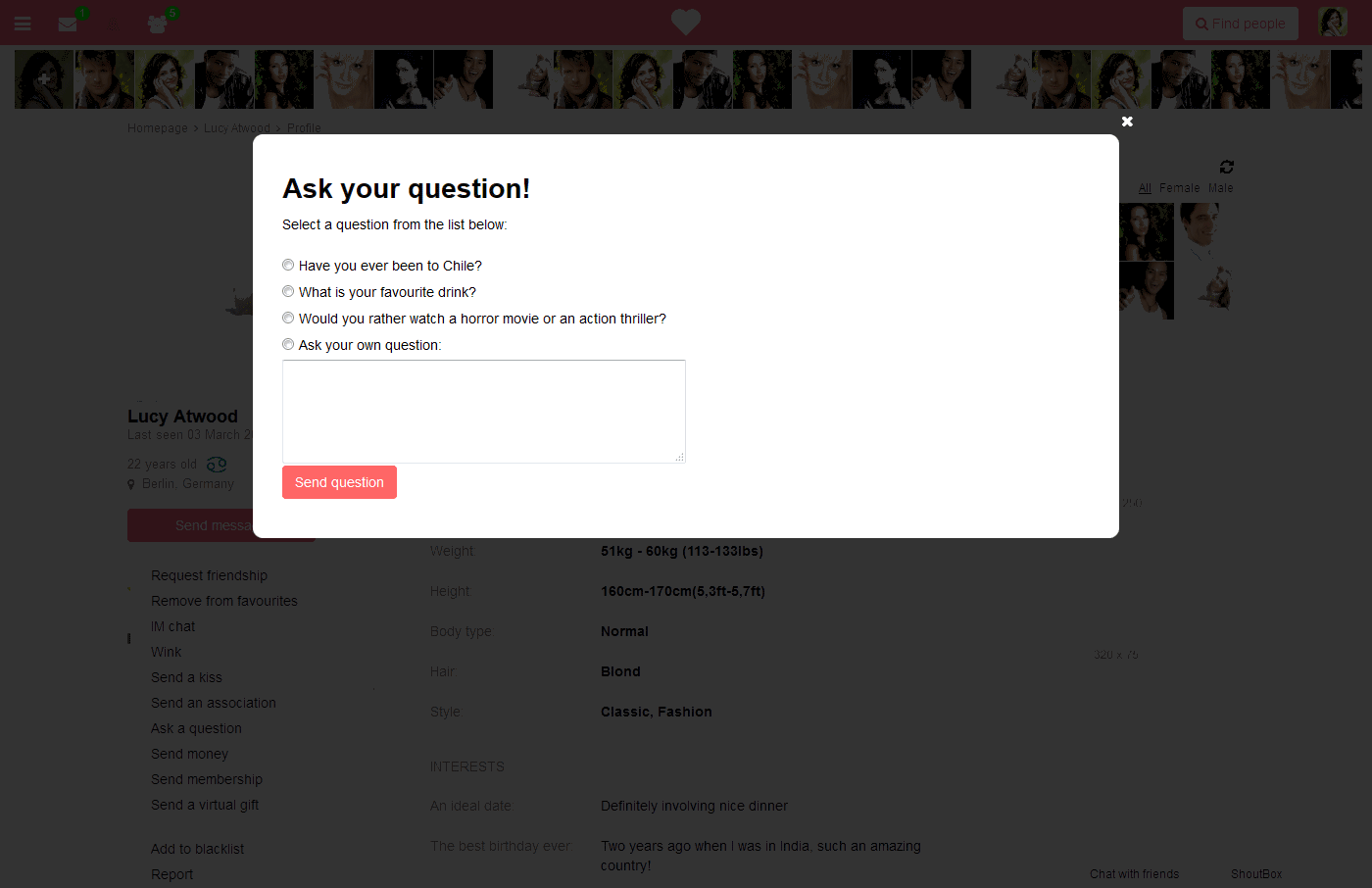 dating website for single parents